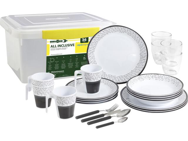 Brunner All Inclusive Service à vaisselles, design pralin